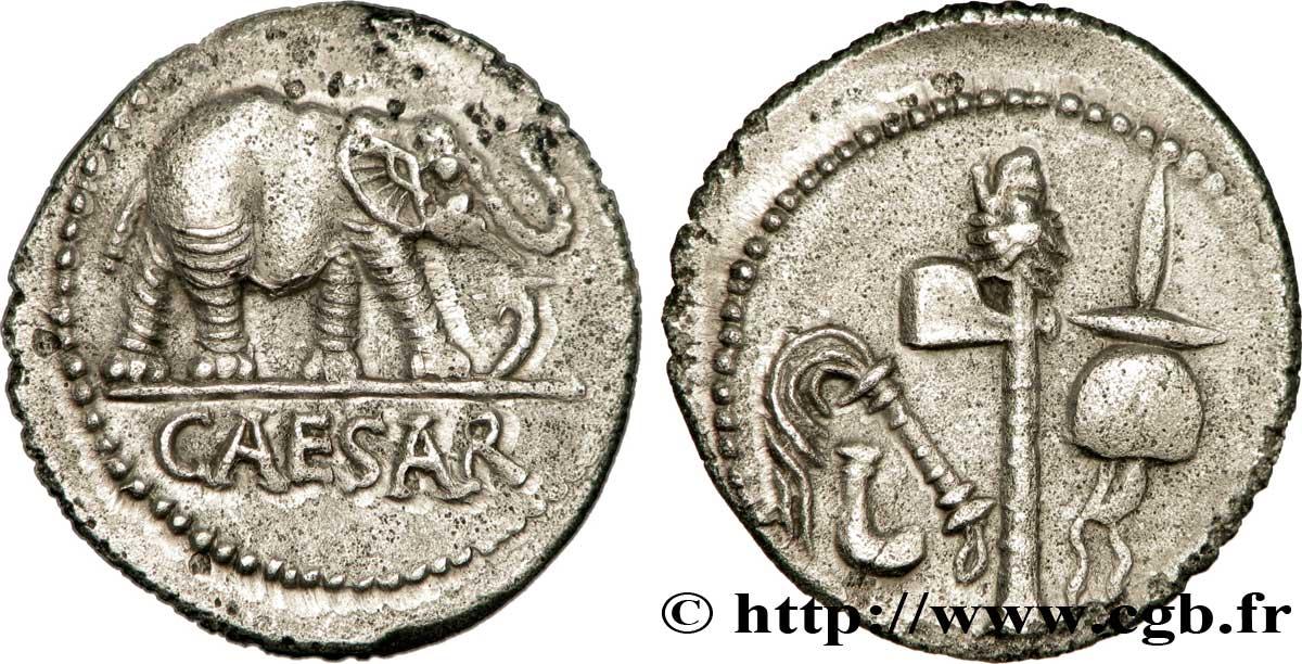 piece de monnaie jules cesar