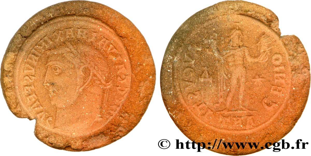 maximinus ii moule en terre cuite de follis ou nummus au brm 268915 roman coins. Black Bedroom Furniture Sets. Home Design Ideas