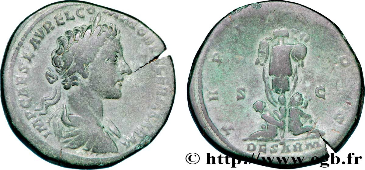 Commode sesterce ttb brm 289313 romaines - Valeur ancienne piece ...