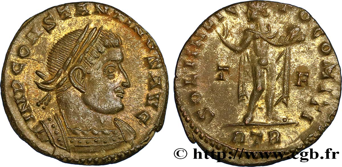 CONSTANTINE I THE GREAT Follis ou nummus MS