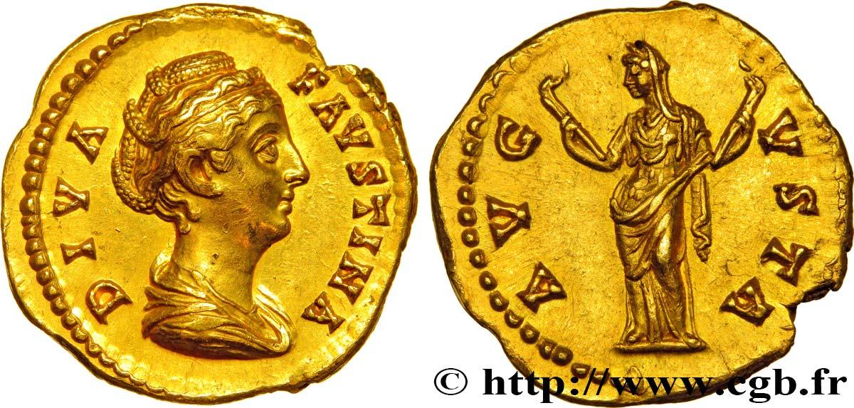 Faustina Maior Aureus Brm413373 Römische Münzen