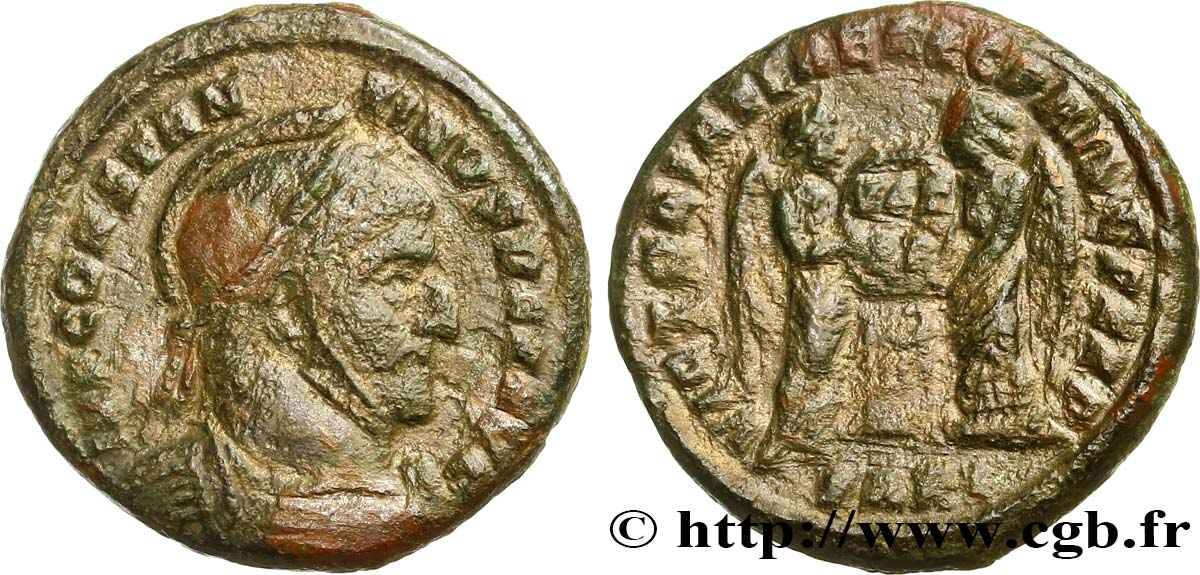 CONSTANTINE I THE GREAT Centenionalis ou nummus VF