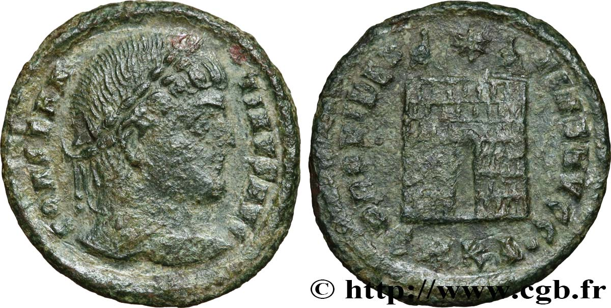 CONSTANTINE I THE GREAT Centenionalis ou nummus XF/VF