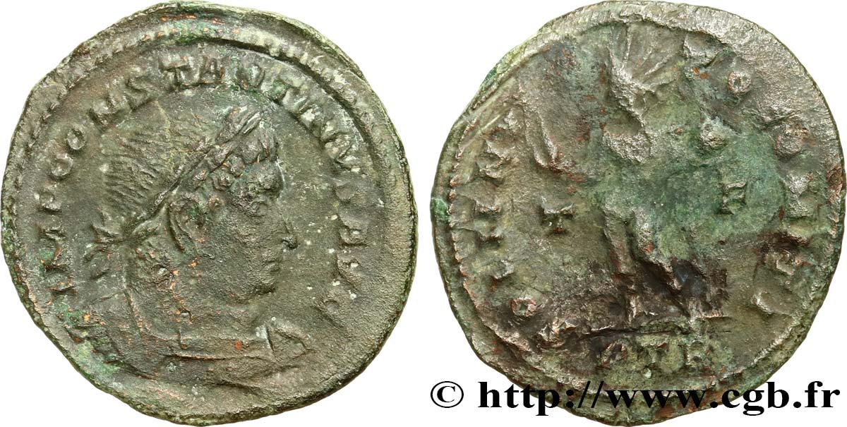 CONSTANTINE I THE GREAT Follis ou nummus XF/VF
