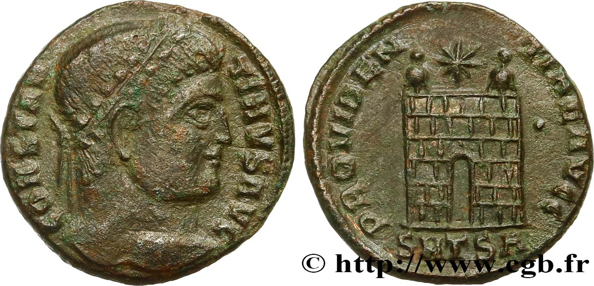 CONSTANTINE I THE GREAT Centenionalis ou nummus XF/AU
