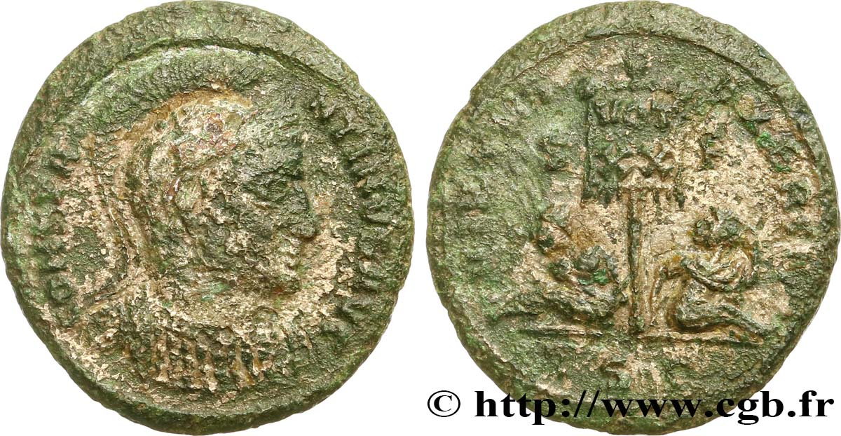CONSTANTINE I THE GREAT Centenionalis ou nummus VF/XF