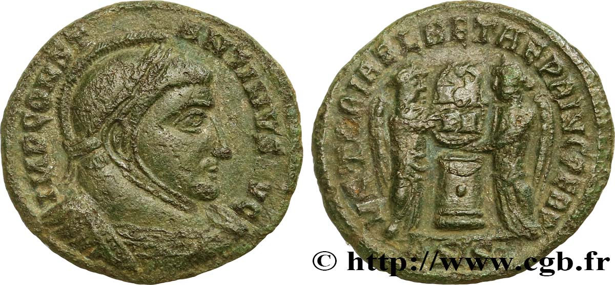 CONSTANTINE I THE GREAT Centenionalis ou nummus XF