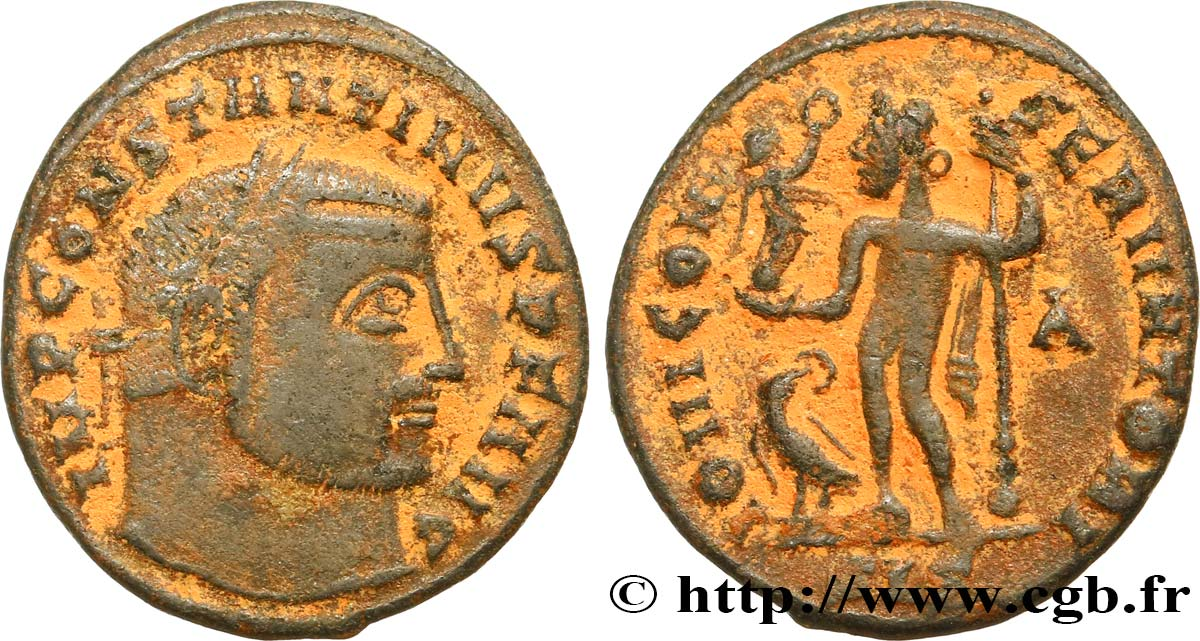 CONSTANTINE I THE GREAT Follis  XF