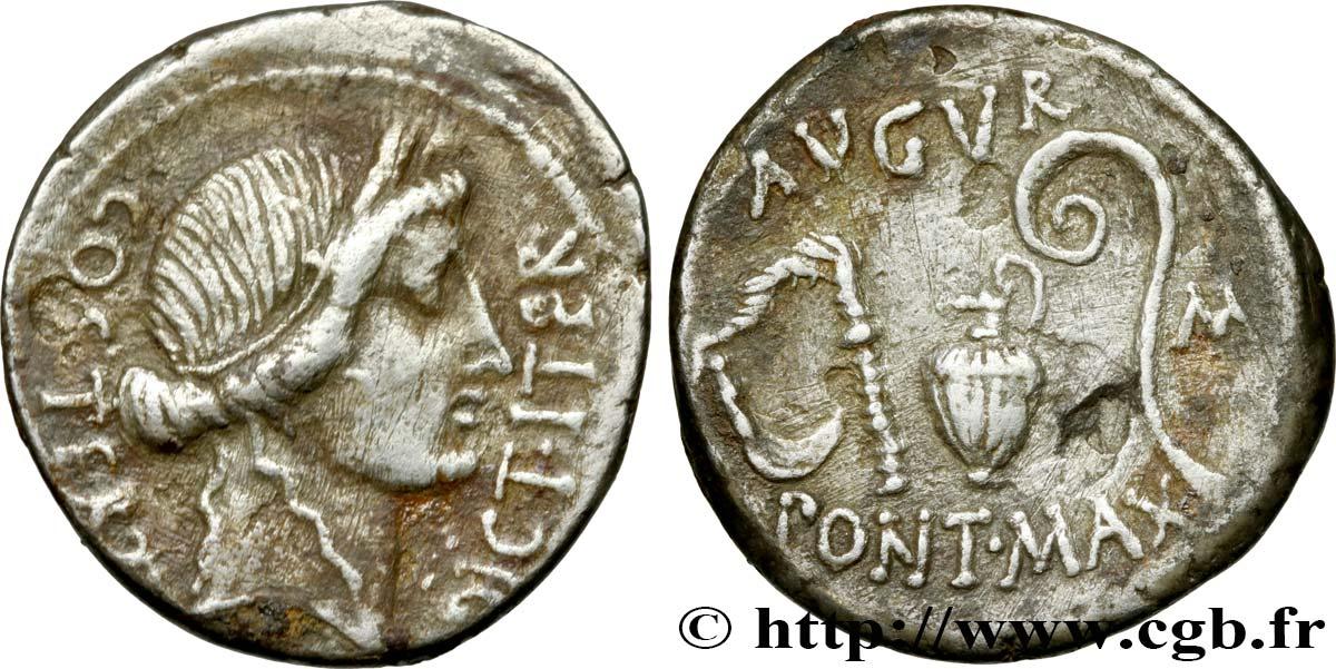 Julius caesar denier brm468855 roman coins julius caesar denier xf freerunsca Images