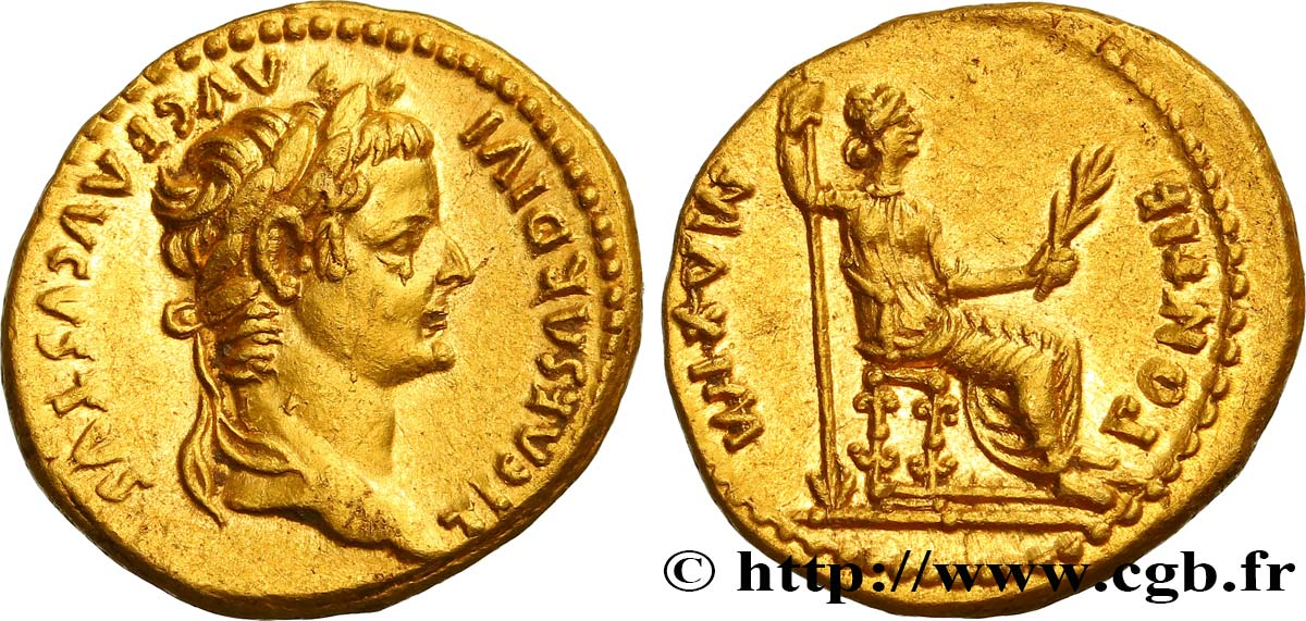 TIBERIUS Aureus - Retiré/Withdrawn MS