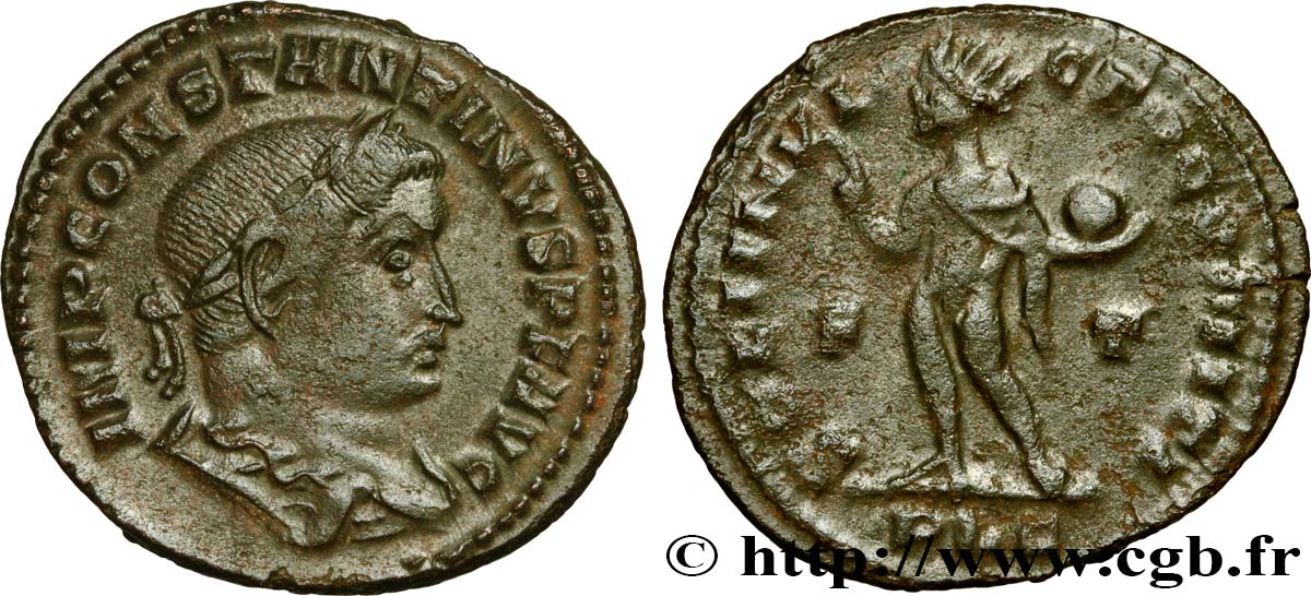 CONSTANTINE I THE GREAT Follis ou nummus XF