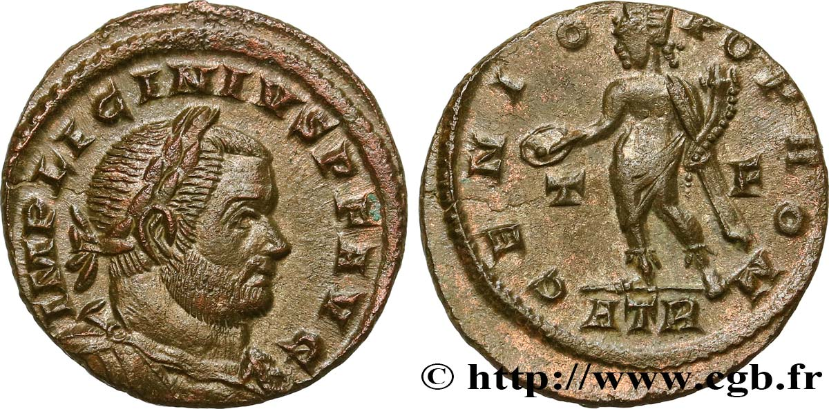 LICINIUS I Follis ou nummus MS/AU