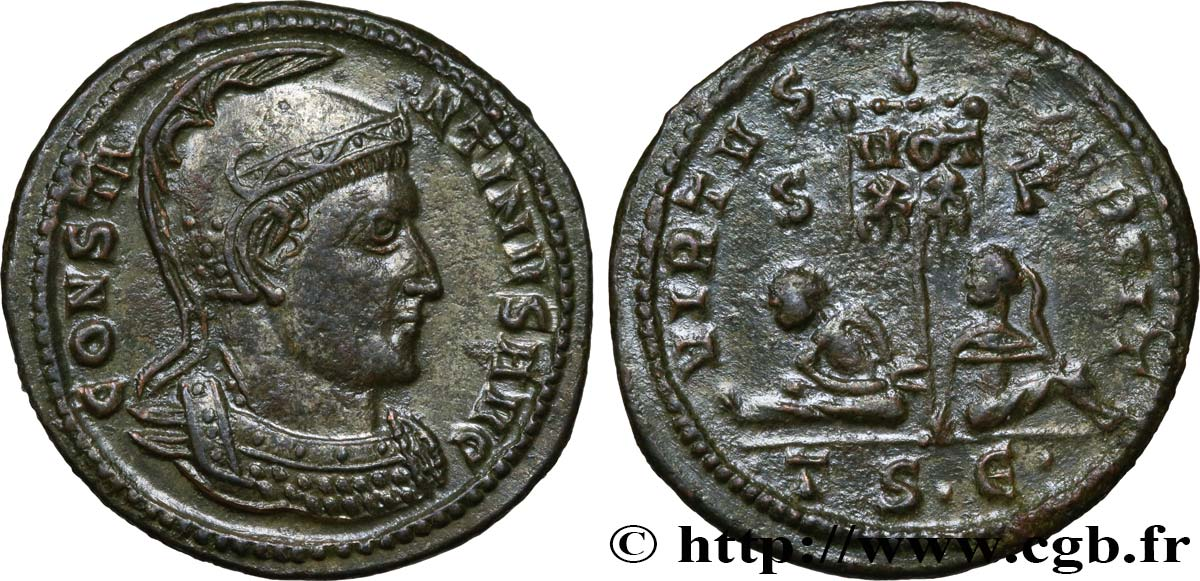 CONSTANTINE I THE GREAT Centenionalis ou nummus MS/AU