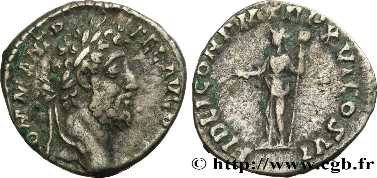 COMMODUS Denier XF