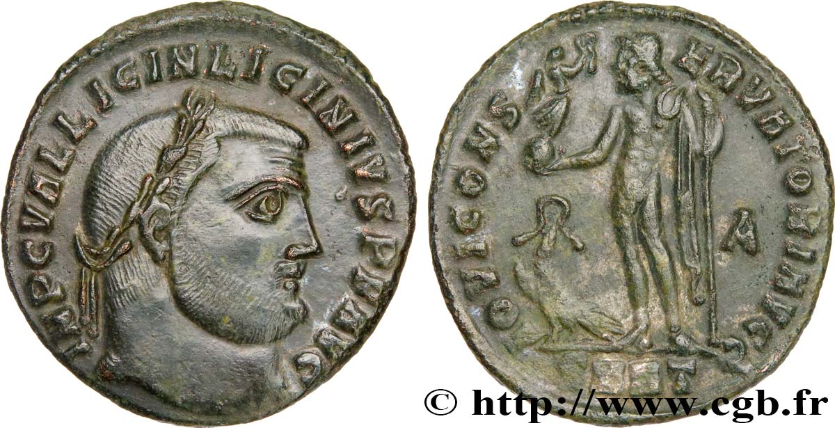 LICINIUS Ier Follis ou nummus SUP
