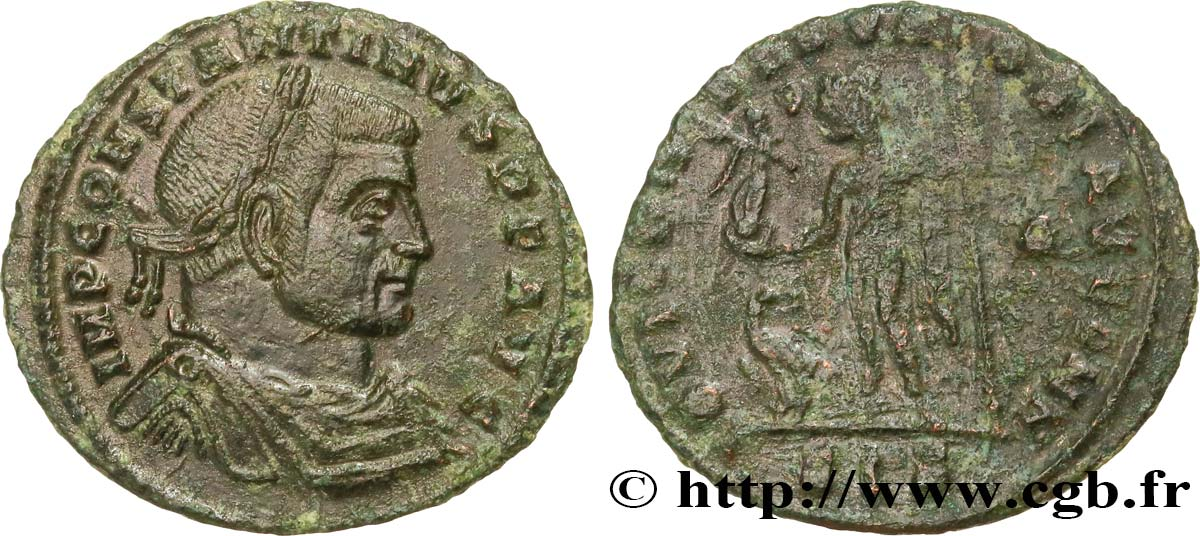 CONSTANTINE I THE GREAT Follis ou nummus AU/VF