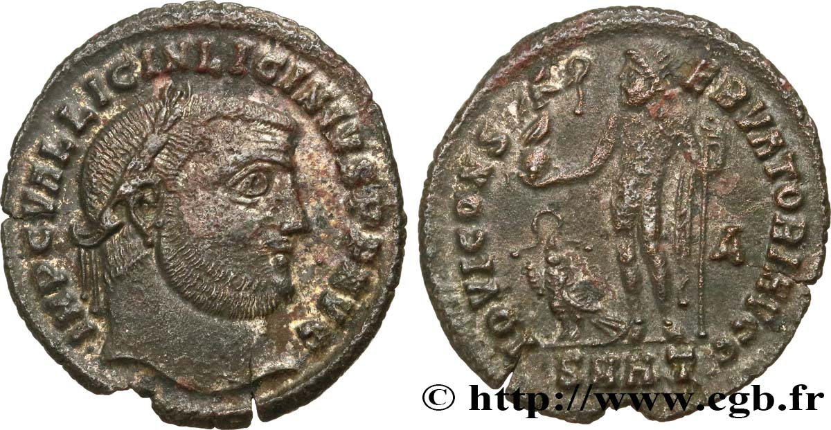LICINIUS I Follis ou nummus AU