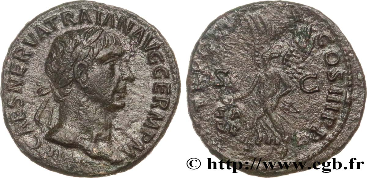 TRAJANUS As XF/VF