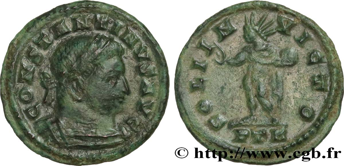 CONSTANTINE I THE GREAT Demi-follis ou demi-nummus AU