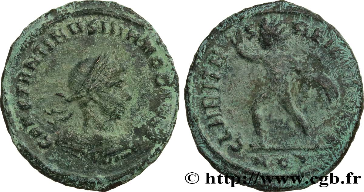 COSTANTINO II Follis ou nummus BB