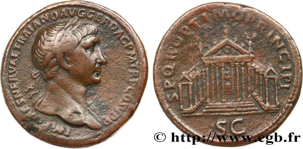 Sesterce de Trajan - CGB quoque tu? Brm_572602