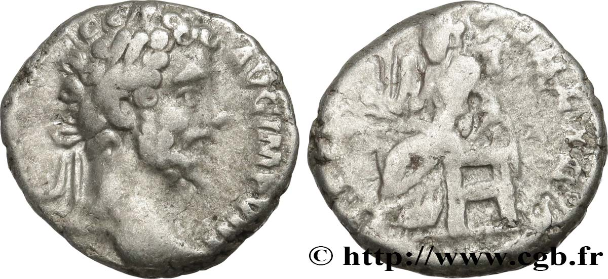 SEPTIMIUS SEVERUS Denier VF