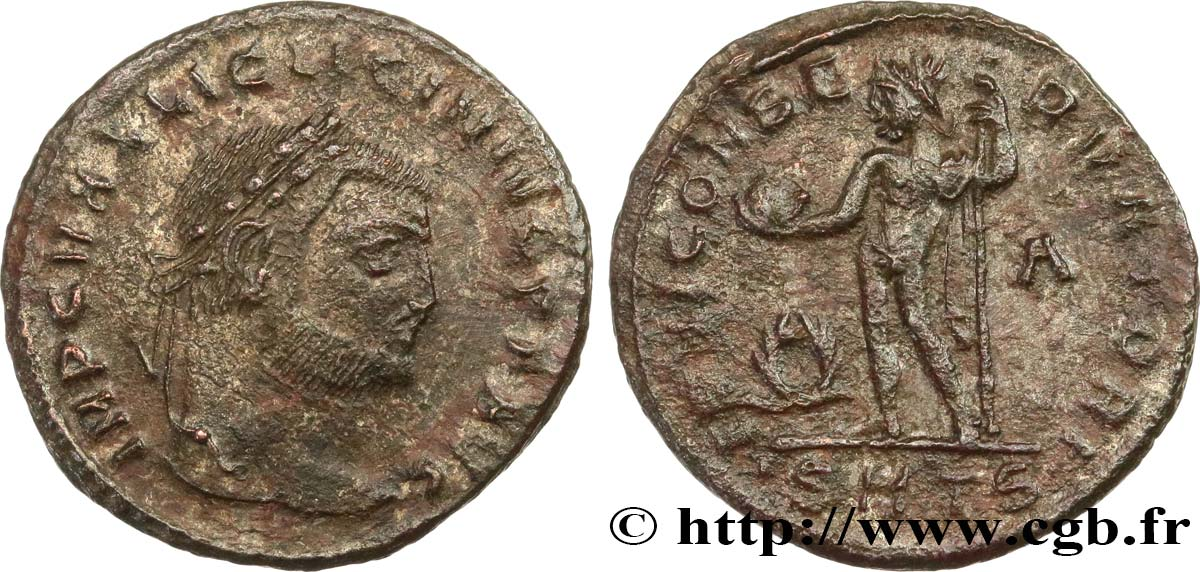 LICINIUS I Follis AU