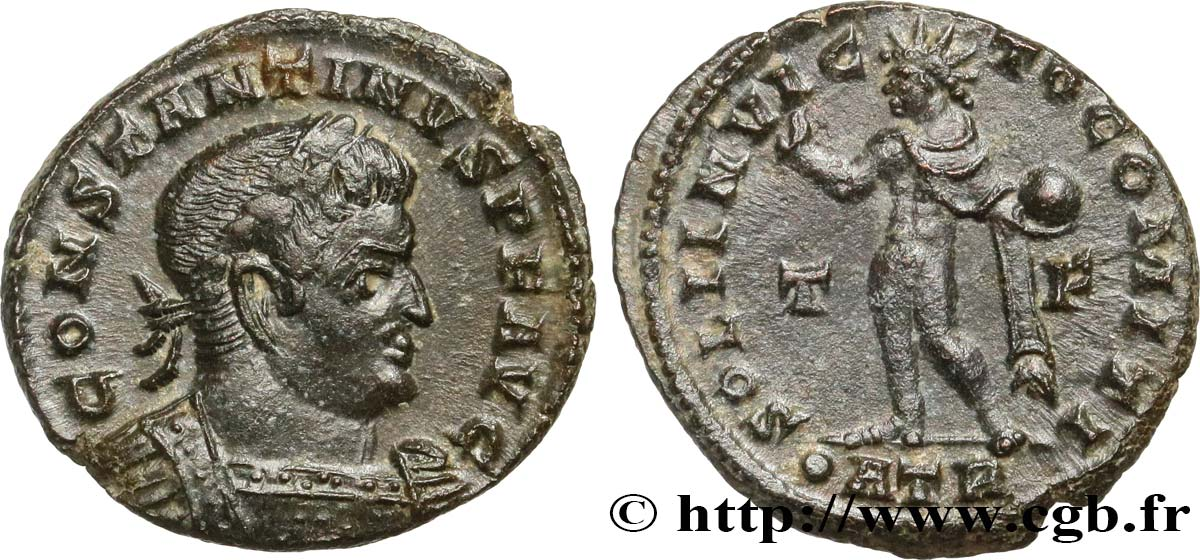 CONSTANTINE I THE GREAT Follis ou nummus AU