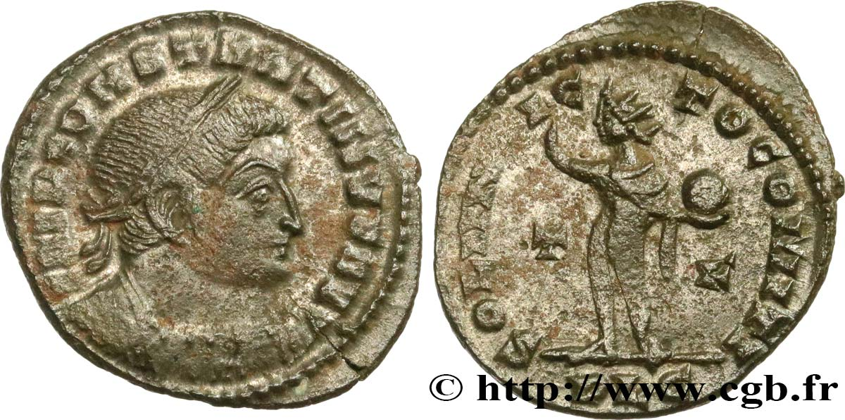 CONSTANTINE I THE GREAT Follis ou nummus XF/AU