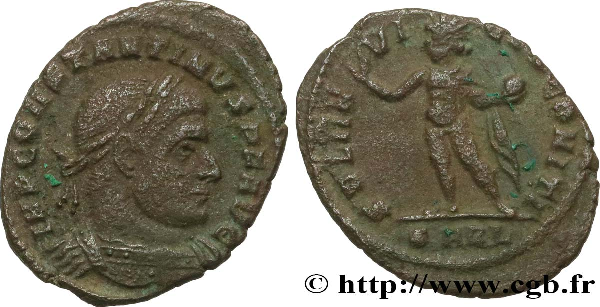 CONSTANTINE I THE GREAT Follis ou nummus VF