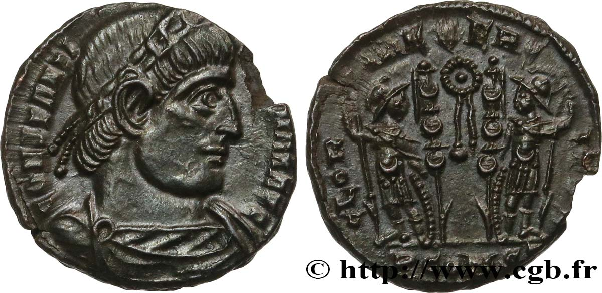 CONSTANTINE I THE GREAT Centenionalis ou nummus MS