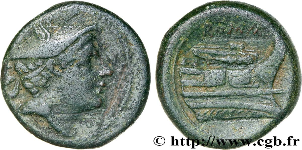 ROMAN REPUBLIC - ANONYMOUS Semuncia XF