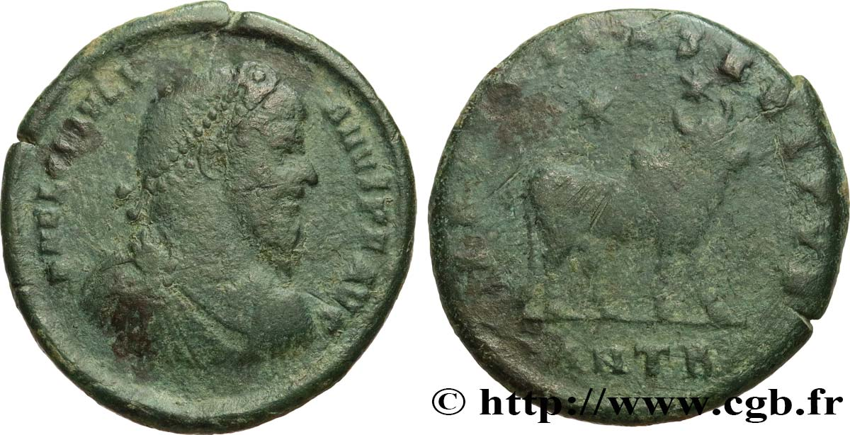 JULIAN II THE PHILOSOPHER Double maiorina, (GB, Æ 1) VF