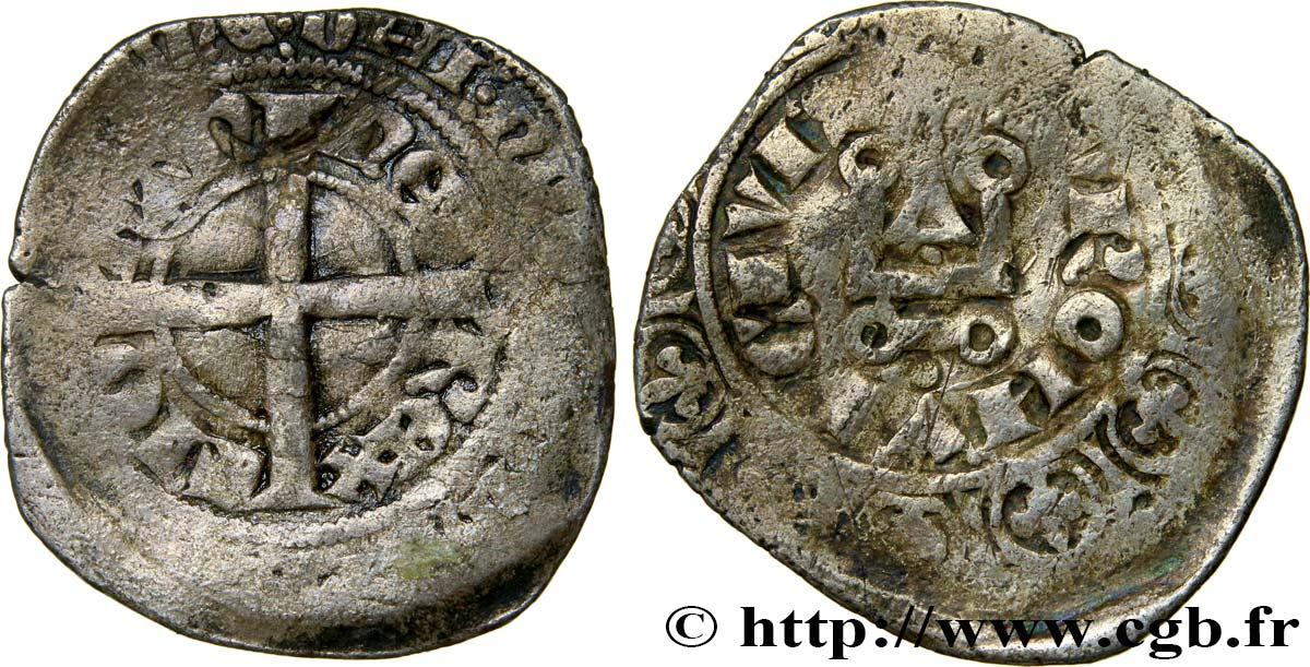 John Ii The Good Blanc à Lépi Nd Bry439339 Royal Coins